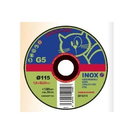 Disco de corte 230 G5 inox.
