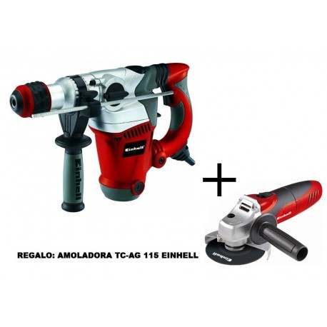 MARTILLO ANTI.VIB. RT-RH 32 + REGALO DE AMOLADORA TC-AG 115 EINHELL